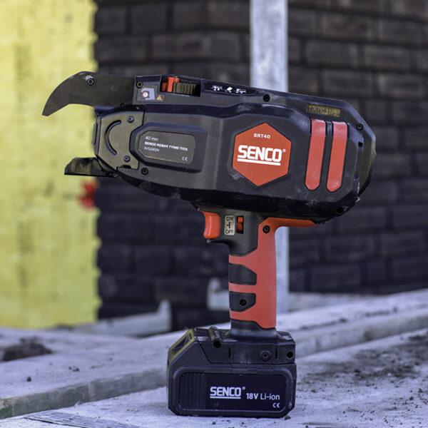 SRT40 Rebar tool application shot